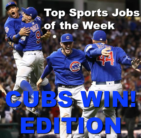 top sports jobs of the week