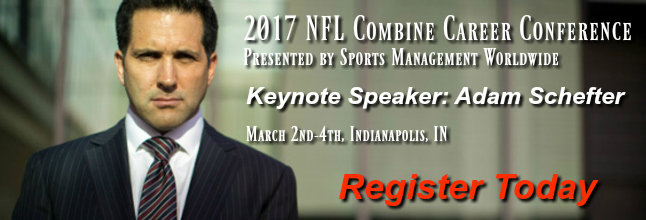 adam schefter keynote speaker nfl combine career conference