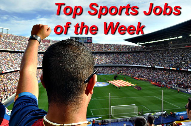sports jobs of the week