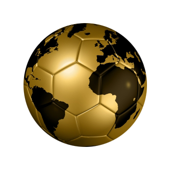 HD wallpapers two football globe logo